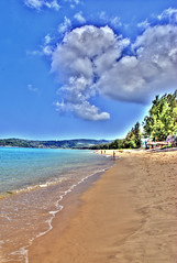 Layan Beach, Phuket (Pat's Travelogue) Tags: cloud beach sandy phuket layan