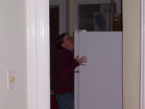 mm...fridge!