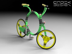 Coroflot  / folding bicycle concept