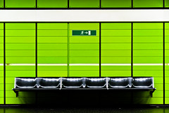All gone to the emergency exit... (manganite) Tags: signs green texture topf25 colors wall digital buildings germany underground subway geotagged interestingness nikon colorful europe bonn pattern dof searchthebest metro tl empty exhibition explore seats getty lookatme symmetric onecolor d200 exit subwaystation minimalism nikkor dslr emergency gettyimages march4 northrhinewestphalia interestingness8 fav100 fav200 fav300 thecolorgreen i500 18200mmf3556 utatafeature manganite nikonstunninggallery ipernity 500px challengeyou challengeyouwinner impressedbeauty 200750plusfaves goldenphotographer march42007 geo:lat=5073215 geo:lon=7105118 date:year=2007 top20germany bppslideshow fav500 fav400 date:month=march