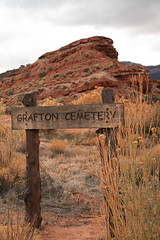 Grafton Ghost Town Cemetery (James Marvin Phelps) Tags: park photography james town utah desert ghost national zion phelps grafton mandj98