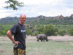 Hubbers on the trail of a Rhino