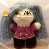 Veronica 1 (Suncatcher Craft Eyes) Tags: cute doll crochet plush veronica softie kawaii amigurumi chezmichelle