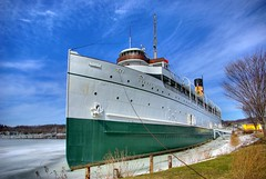 S. S. Keewatin (norjam8) Tags: winter sky white green ice museum harbor dock ship pb maritime steamship fp hdr e12 keewatin supershot photomatrix anawesomeshot superaplus superbmasterpiece norjam8 imgp4577h searththebest norjamss