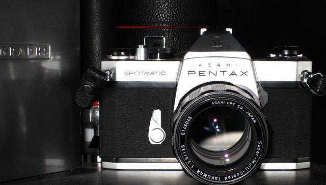 Vintage Pentax Film Camera