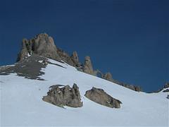 Eye of the Needle (Ian Boichat @ Origin Studios) Tags: blue snow valdisere offpiste eyeoftheneedle
