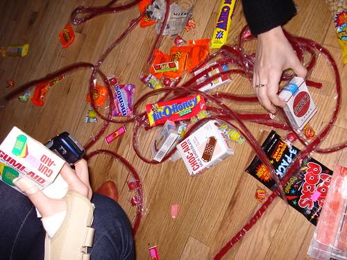 candy (butch's insides)