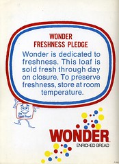 Wonder Bread Promo Folder