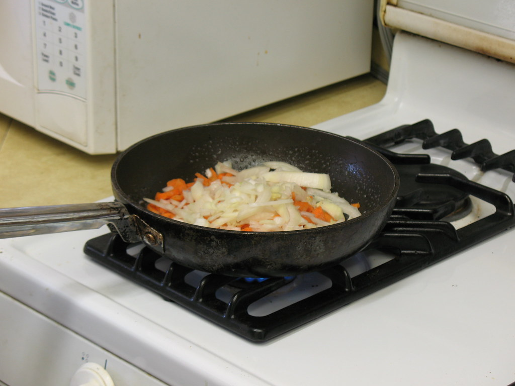 Cook Carrots & Onions