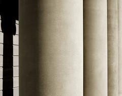 Pillars (spherop) Tags: sepia geometry pillar