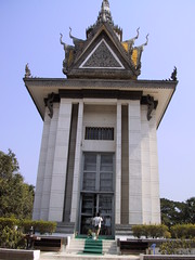Memorial Shrine at Choeung Ek Killing Fields