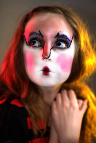 Crazy Makeup. How to below.