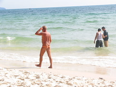 (Tanya in BNE) Tags: trip travel vacation sun holiday beach water canon sand cambodia sihanoukville southeastasia surf cny 2007 canonpowershotpro1 possiblytheworldsworstbeach southerncambodia zerotohero