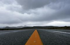 Endless Stretch (Bhlubarber) Tags: road patagonia storm argentina rain yellow ruta carretera empty route estrada bariloche yellowline rodovia autovia sevenlakes conosur sietelagos gulmidtstripe davidniddrie lpdirections