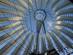 Sony Center in Berlin (Big Marvin) Tags: berlin 2006 potsdamerplatz sonycenter