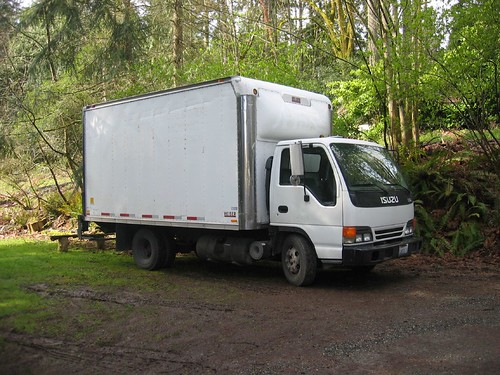 Clear Path Truck Donated by Hill Moving & Storage in Poulsbo, WA