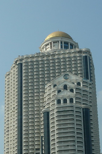 Vista del Hotel Lebua en State Tower