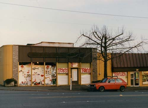 Archie McPhee's Original Location in the Mid-80s