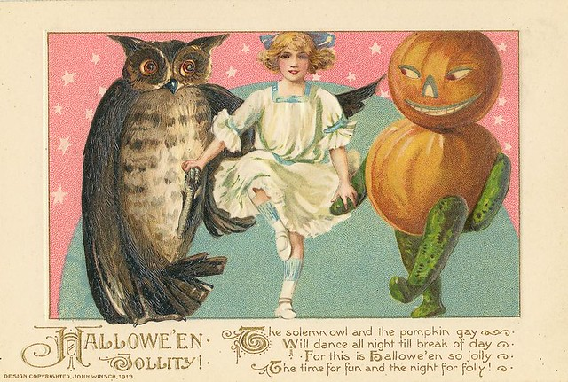 Old Halloween Card