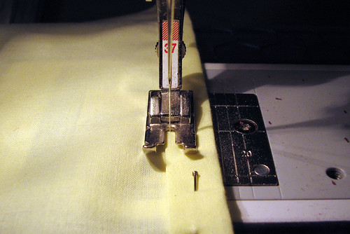 Sewing the Hem