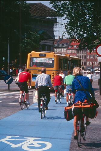 En bicicleta por Copenhagen