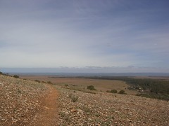 Flinders Ranges Looking Out To The Ocean