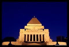 Shrine of Remembrance, Melbourne (Adam Dimech) Tags: road memorial war shrine iraq southyarra australia melbourne victoria vietnam korean ww2 ww1 remembrance ran raaf stkilda easttimor malaya australianarmy shrineofremembrance royalaustraliannavy royalaustralianairforce