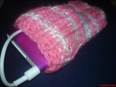 iPod sock - pink