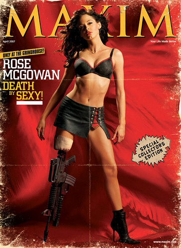 Rose McGowan Maxim Grindhouse Planet Terror