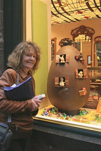 Easter egg Belgian style