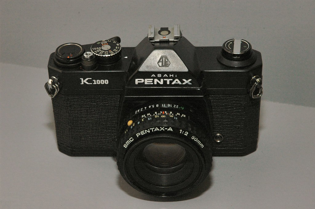 Pentax K1000 Black Body