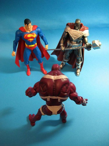 Superman, Steel and Parasite