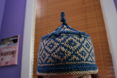 Finally, a finished hat