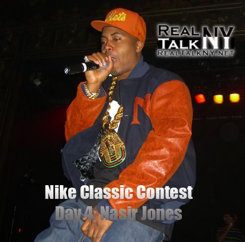 Nike Classic Contest Day 4: Nasir Jones