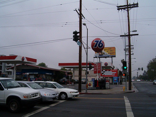 Red 76 Ball at Oxnard and Woodman, Van Nuys, CA #1