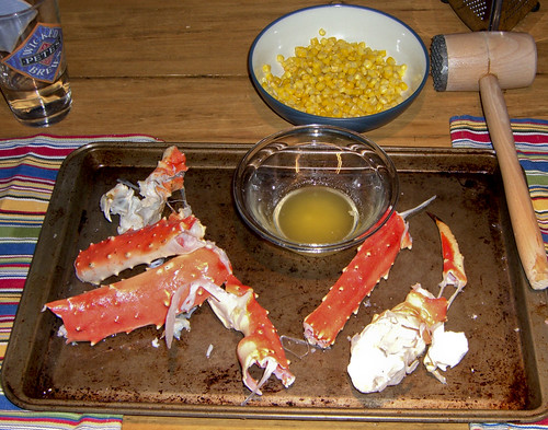 King Crab Legs & Hammer
