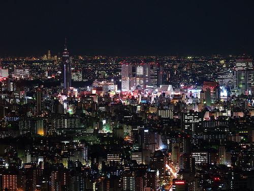 look at the Shinjuku area