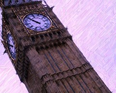 big ben colored pencil