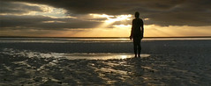 Another Place (3) (martsky) Tags: sunset beach liverpool mersey crosby antonygormley merseyside anotherplace gapc