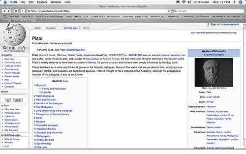 Wikipedia vandalism
