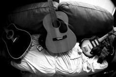 guitars (johnnyalive) Tags: friends guitar guitarist 2007 studiorecording thehalfrats albumrecording