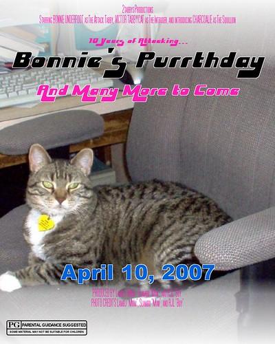 Bonnie's Purrthday 2