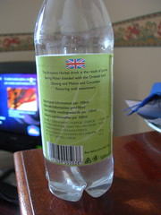 Ginseng with Melon & Cucumber sparking water