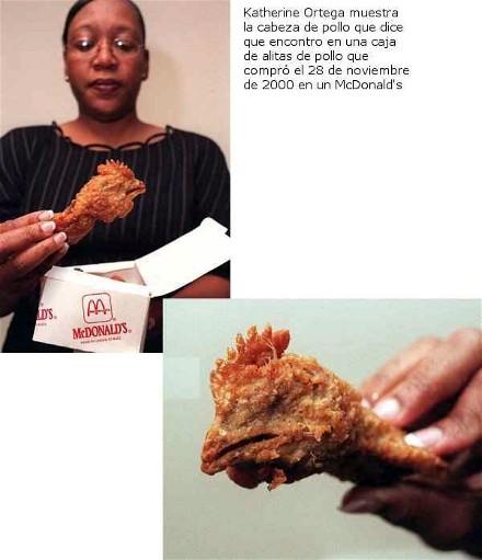 pollo en el bigmac