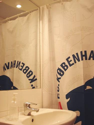 My FC København shower curtain