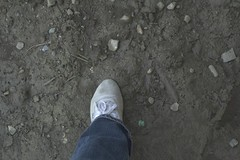 muddy_balloons_1 (sneaker lover) Tags: white fetish balloons shoes dirty canvas worn sneaker muddy keds