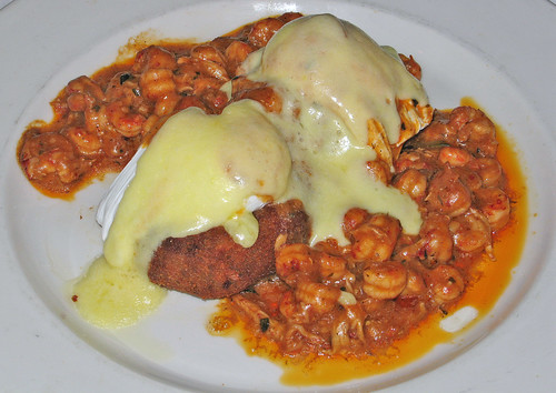 Brennan's of Houston: Louisiana Crawfish Cakes & Eggs
