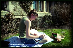Studying in the Sun