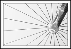 the hub (matt duke) Tags: bw abstract bicycle wheel highkey cwd interestingness6 cotcmostinteresting impressedbeauty cwdgs tacwdd bratanesque cwd151 cwdgs15 mattdukephoto