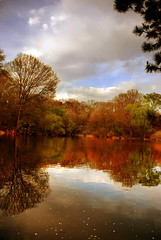 Central Park (subjectivexperience) Tags: newyork water colors spring centralpark waterscape
